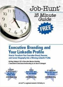FREE E-BOOK: Executive Branding and Your LinkedIn Profile