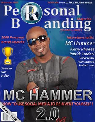 Personal Branding Expert Dan Schawbel Interviews MC Hammer