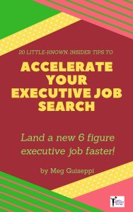 LinkedIn executive job search